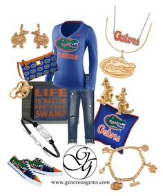 Designer Clothes, Shoes & Bags for Women Sec Football, College Football, Swamp Shop, Sports Women, Sports Lady, College Game Days, Florida Gators, Dooney Bourke, Nike