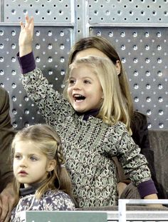 Infanta Sofía of Spain, born April 29, 2007 in Madrid.