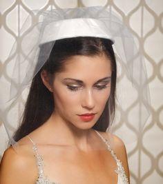 vintage pillbox hat veil