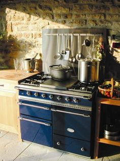 Lacanche Macon - This would suit my fantasy kitchen easily!