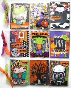 .: Halloween Pocket Letter Ft. MMedelillustrations + Giveaway! | Halloween Craft Series 2015 Project #5
