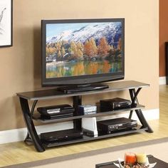 Marvelous Glossy Black TV Stand By Golden Oak/Whalen Furniture Is Now Available At American  Furniture Warehouse. Shop Our Great Selection And Save!
