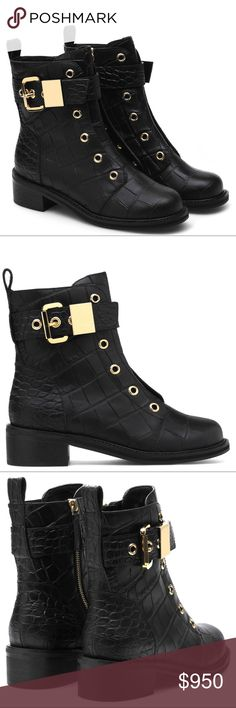 Giuseppe Zanotti boots Giuseppe Zanotti crocodile leather boots Giuseppe Zanotti Shoes Ankle Boots & Booties