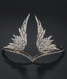 Diamond tiara, by Chaumet, circa 1899. #Chaumet #Antique #tiara - Don't be tricked when buying fine jewelry! Follow the vital rules at http://jewelrytipsnow.com/a-simple-guide-to-purchasing-fine-jewelry/