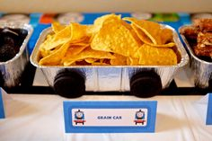 Thomas the Train Birthday Party Ideas | Photo 4 of 48 | Catch My Party