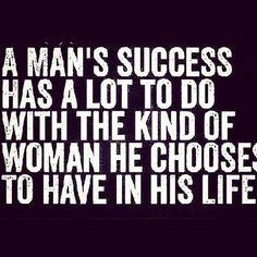 If He chooses to have you in His life you do everything you can to help Him be successful.