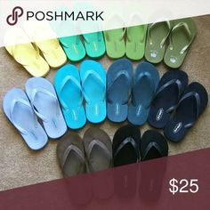 Want to Buy: Old Style Old Navy Flip Flops Hi! I'm looking if anyone has any of the original styled old navy flip flops as seen in the picture. These were so comfy, I'm not into the newer styles! These seem to be hard to find! If they are broken in that's fine, sort of looking for something more worn in. Let me know if you got em, thanks!! ?? Old Navy Shoes Sandals