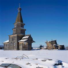 North Russia: Ratonavolok, Arkhangel region Church of St. Peter