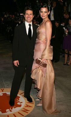 A Look Back at TomKat - Tom Cruise and Katie Holmes Relationship Timeline - Zimbio