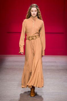 Salvatore Ferragamo At Milan Fashion Week Fall 2018 - The Most Beautiful Runway Dresses From Milan Fashion Week Fall 2018 - Photos