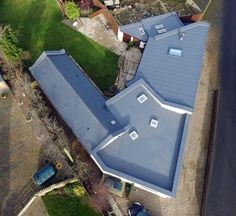 The Sarnafil single ply membrane flat roof solution is easy and quick to fit, is cheaper than metals such as zinc and lead is high performance and great to look at. The Sarnafil single ply membrane can only be installed by our registered, trained, Roof Assured installers.