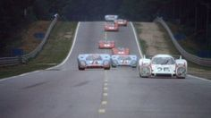 """Racing action from """"Le Mans"""" 1971"""