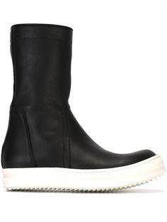 RICK OWENS 'Basket Creeper' boots. #rickowens #shoes #boots
