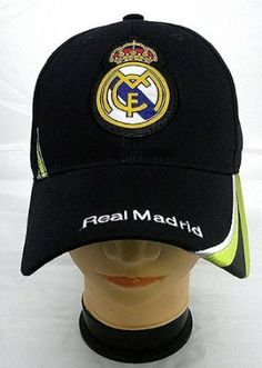 Amazon.com  REAL MADRID FOOTBALL CLUB OFFICIAL LOGO SOCCER ADJUSTABLE HAT  CAP NAVY BLUE  Sports   Outdoors f00f6f37a84f