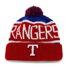 8a432a91fbd7b Texas Rangers Calgary Cuff Knit Royal 47 Brand Hat