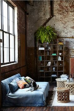 Bombora Bookshelf - #anthrofave / modern urban bohemian decor / architecture