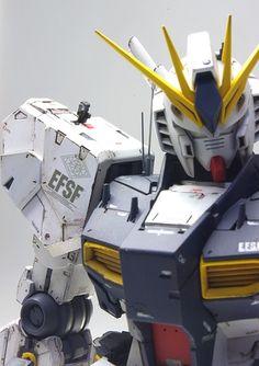 MG RX-93 Nu Gundam Ver. Ka Modeled by NAOKI | GundamModelKits.com