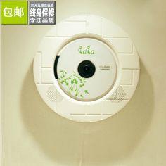 Free Shipping Wall cd machine cd player cd audio belt remote control usb flash drive sd on Feline Fan's store.