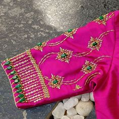 Best Blouse Designs, Saree Blouse Neck Designs, Bridal Blouse Designs, Latest Embroidery Designs, Maggam Work Designs, Diana, Hand Designs, Sleeve Designs, Work Blouse
