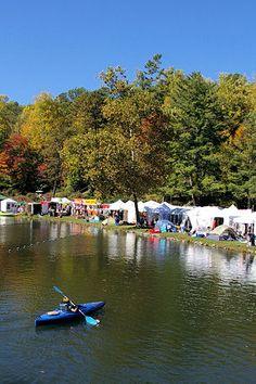 LEAF Festival: Lake Eden Arts Festival, Black Mountain near Asheville