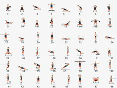 Here Are 48 Body weight Exercises That Will Help You Meet All Your Fitness Goals! 🍑💪 Here Are 48 Body weight Exercises That Will Help You Meet All Your Fitness Goals! 🍑💪 Healthy Motivation : Ici, vous avez l'un . Fitness Workouts, Fitness Herausforderungen, Fitness Goals, Fun Workouts, At Home Workouts, Enjoy Fitness, Mens Fitness, Health Fitness, Pilates Training