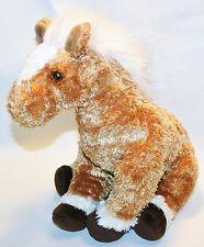TY BEANIE Buddies TROTTER Plush stuffed Horse Pony Lovey