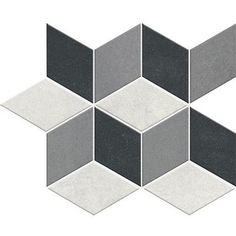 Oxford 5-3/4 x 3-1/4 - Grey Mosaic