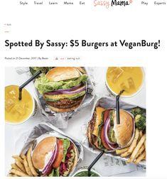 $5 Burgers at VeganBurg!