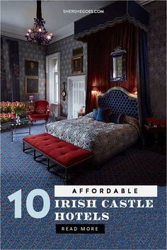 10 Enchanting Castle Hotels in Ireland (You Won't Want to Leave!) - 10 stunning Irish castles you can stay in! These castle hotels in Ireland are perfect for families, - Castle Hotels In Ireland, Castles In Ireland, Ireland Travel Guide, Europe Travel Tips, European Travel, European Vacation, Affordable Hotels, Best Hotels, Restaurants