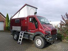 Bremach T-Rex    AWD Hybrid with a SNORKEL!!