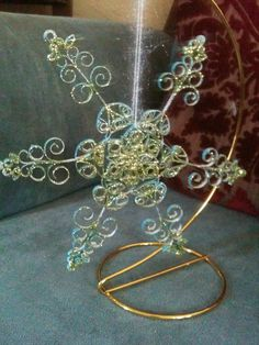 Quilled Snowflake or Garland Ornament Made by ChineseAcademy, $15.00