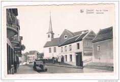 Pub vetements ALBA & Schmidt bières,  Stockel -, Rue de l'Eglise, Café Au Boin Coin chez Arthur, Edit. A. Durr et Fils, Bruxelles -