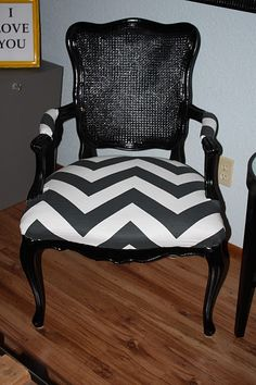 another chevron chair!