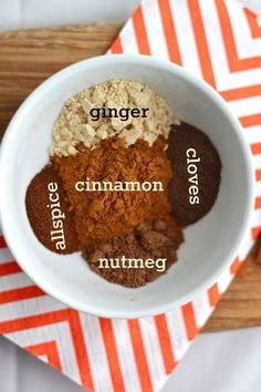 Homemade Pumpkin Pie Spice, so yummy to sprinkle on coffee, smoothies, sliced apples and oatmeal too! #fall #Thanksgiving