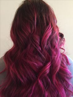 I miss my pink hair.