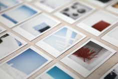 love the abstract quality of some of these #instax pics.
