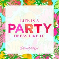 "8 of the Best Lilly Pulitzer Quotes of All Time  - <a href=""http://TownandCountryMag.com"" rel=""nofollow"" target=""_blank"">TownandCountryMag...</a>"