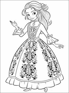 Print Elena And The Secret Of Avalor Disney Princess Coloring Pages