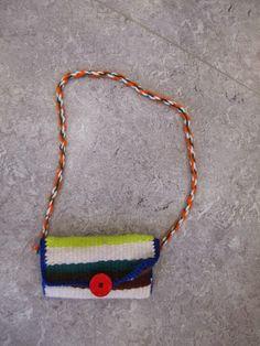 Tasche weben im Kindergarten
