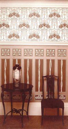 252 best art nouveau interior decorating images on pinterest in 2018