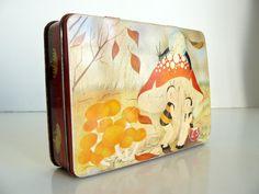 art deco fairy tin by littlebirdworks on Etsy, $18.00