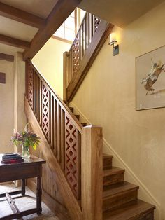 Wooden Banister Rails Home Decor Photos Gallery