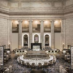 Set in an imposing former bank the @ritzcarlton Philadelphia is an architectural landmark #promo #RCMemories #RCRoomNo8  via BRITISH VOGUE MAGAZINE OFFICIAL INSTAGRAM - Fashion Campaigns  Haute Couture  Advertising  Editorial Photography  Magazine Cover Designs  Supermodels  Runway Models