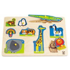 Wild Animals Peg Puzzle | Hape Toys