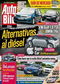 Revista #Autobild 492, #octubre. #AppleCar, ¿un #iPhone con ruedas? Alternativas al #diésel.