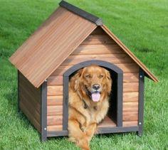 hundeh tte f r ihren gro en oder kleinen hund richtug ausw hlen holz hundehaus hundehaus und. Black Bedroom Furniture Sets. Home Design Ideas