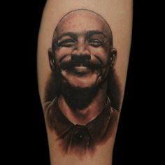 Love this Charles Bronson tat played by Tom Hardy! :)