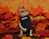 Polymer clay cats by MarjoriamsColony on Etsy