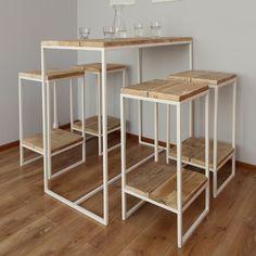 Möbel - Hocker, Säule, Helfer, Barhocker -40% - ein Designerstück von Woodenfactory bei DaWanda
