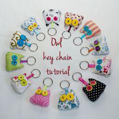creative confetti: Owl Key Chain Tutorial Giveaway